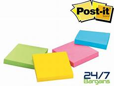 Post It Memo Cheap 3m Post It Notes Sticky Memo Pads 76mm X 76mm In 100