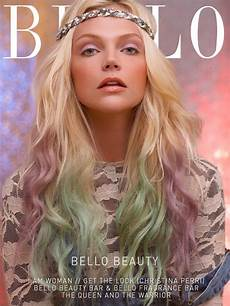 lived in style trending pastel hair