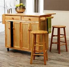 6 Portable Kitchen Islands To Solve Your Small Kitchen Woes Small Rolling Kitchen Island With Seating