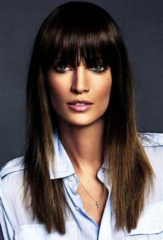 le fashion beauty bangs