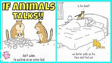 if animals could talk illustrations youtube