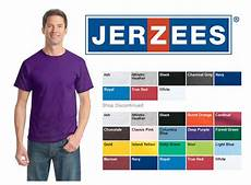 Jerzees Color Chart Jerzees Value T Shirts E Z Connection Inc