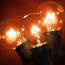 Epilepsy And Bright Lights Patio Lights Clear Globe String Lights 33 G40 E17 Bulbs