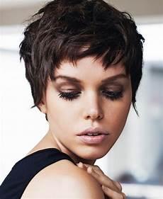 kurzhaarfrisuren damen bilder dunkel la moda en tu cabello cortes de pelo corto pixie para