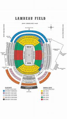 Green Bay Packers Seating Chart Packers Seating Chart Green Bay Packers Packers Com