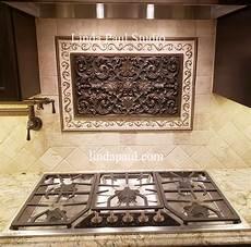 decorative kitchen backsplash kitchen backsplash plaques ravenna decorative tile medallion