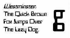 Westminster Typeface Wikipedia
