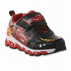 Disney Character Light Up Shoes Disney Toddler Boys Lightning Mcqueen Light Up Sneaker