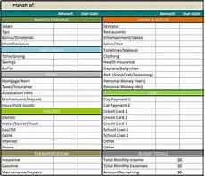 Budget Expenses Spreadsheet Restaurant Budget Spreadsheet Excel Template On Behance