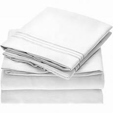 mellanni bed sheet set brushed microfiber 1800