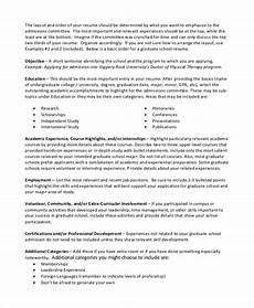 Graduate School Resume Objective Sample Resume Objective 6 Documents In Pdf