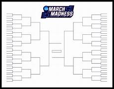 Blank March Madness Bracket The Printable March Madness Bracket For The 2019 Ncaa