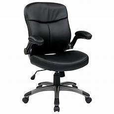executive eco leather chairs mid back bonded leather chair