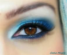 augen make up dezent blau eyeshadow for blue 50 blue makeup for brown