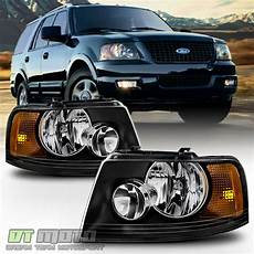 Aftermarket Headlights And Lights For Trucks Blk 2003 2006 Ford Expedition Headlights Headlamps
