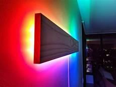 Rgb Wall Lights Super Simple Rgb Wifi Lamp In 2020 Led Lighting Diy Diy