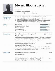 Resume In Doc 45 Free Modern Resume Cv Templates Minimalist Simple