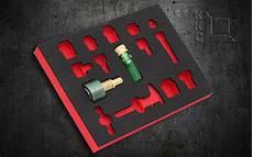 Werkzeug Einlagen Schaum schaumstoffeinlagen werkzeugeinlagen individuell