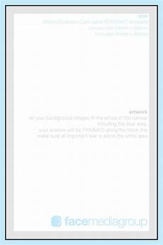 Blank Business Card Template Uk Printed Business Cards Face Media Group