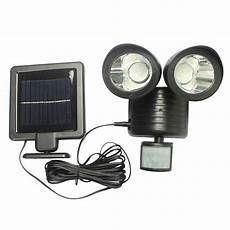 Solar Motion Sensor Light With Alarm 22 Led Solar Light Pir Motion Sensor Rotable Two Heads