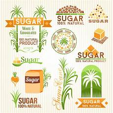 Sugar And Vice Designs Sugar Labels With Logos Vector Material 02 Vector Label