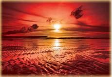 strand solnedgang strand solnedg 229 ng fototapetonline se