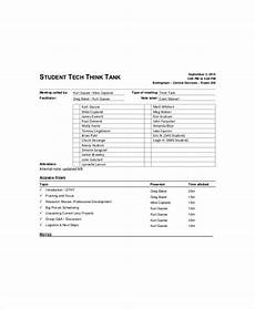 Informal Meeting Agenda Informal Meeting Agenda Template 5 Free Word Excel