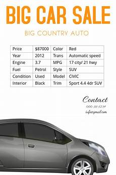 Car Sale Flyer Car Sale Flyer Template Postermywall