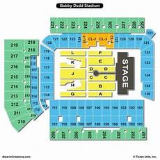 Stambaugh Stadium Concert Seating Chart Bobby Dodd Stadium Seating Chart Seating Charts Amp Tickets