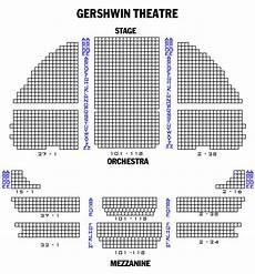 Wicked Seating Chart Gershwin Theatre Gershwin Theatre Playbill