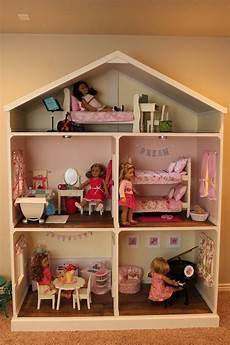 doll house plans for american or 18 inch dolls 5 room