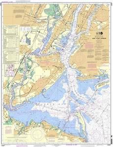 Noaa Chart 13205 Noaa Chart 12327 New York Harbor