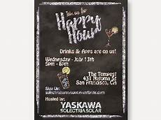 Happy Hour Invite Wording Happy Hour Invitation By On Dribbble