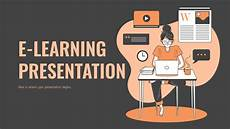 Online Education Templates Free Download E Learning Presentation Google Slides And Powerpoint Template