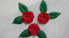 beautiful roses stitches embroidery