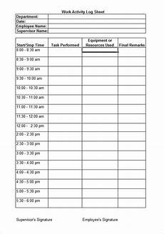 Daily Worksheet For Employees 8 Daily Worksheet Templates Free Word Excel Documents