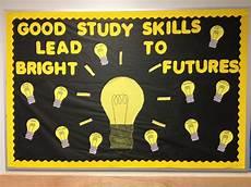 Light Bulb Bulletin Board Study Skills Bulletin Board Different Study Skills Are