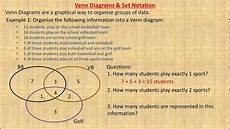 Partial And Semipartial Correlation Venn Diagram Venn Diagrams And Set Notation Youtube