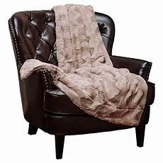 chanasya faux fur throw blanket soft