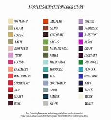 pretty dresses color chart supposed color chart for those mori lee dresses we seem to