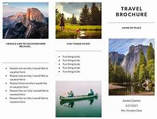 Free Travel Samples 11 Free Sample Travel Brochure Templates Printable Samples