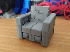 Transformer Sofa 3d Image by 3d Printable Transformable Sofa Robot 3 75 Inch No