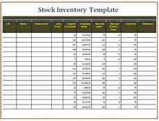 Stock Inventory Format Sample 10 Stock Inventory Templates Free Printable Excel Word