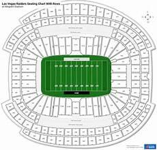 Las Vegas Raiders Stadium Seating Chart Las Vegas Raiders Seating Charts At Allegiant Stadium