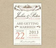 Free Printable Save The Date Templates Save The Date Custom Printable Template By Bejoyfulpaper