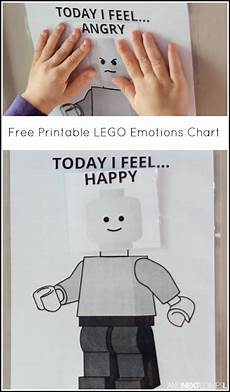 Lego Feelings Chart Free Printable Lego Quot Today I Feel Quot Emotions Chart Free