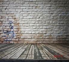 5x7ft Vinyl Brick Wall by 5x7ft Vinyl Brick Wall Wood Floor Backdrop Photography