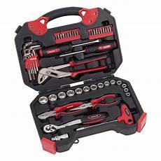 Reise Werkzeugset by Anndora De Kreator Werkzeug Set 52 Teilig Werkzeugkoffer