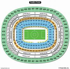 Fedex Seating Chart Fedexfield Seating Chart Seating Charts Amp Tickets