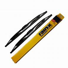 napa wiper blade replacement chart 2 rain x weatherbeater metal frame wiper blades size 21